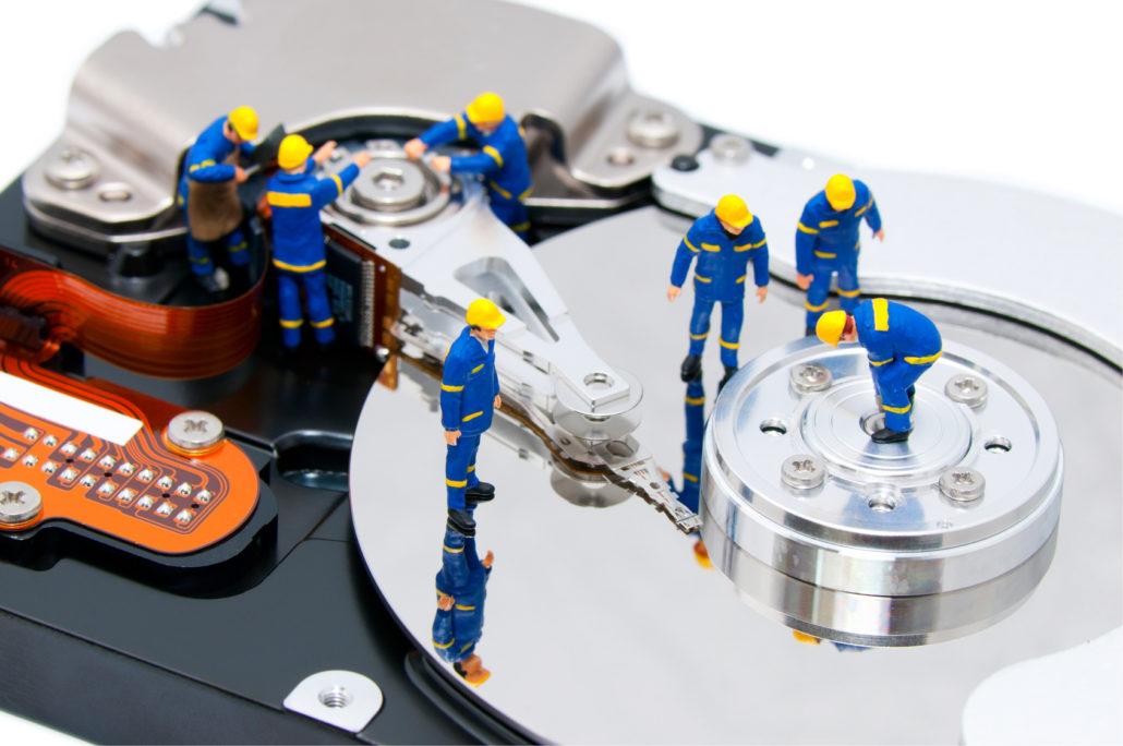 Как найти и исправить плохие сектора на жестком диске.