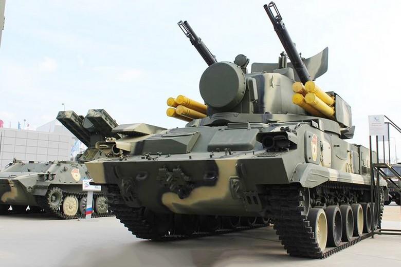 Российское передовое оружие, в том числе и против беспилотников