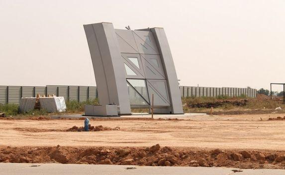 Новый аэровокзальный комплекс строят в Крыму