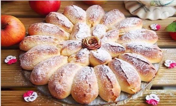 Простой и вкусный «Отрывной» яблочный пирог.