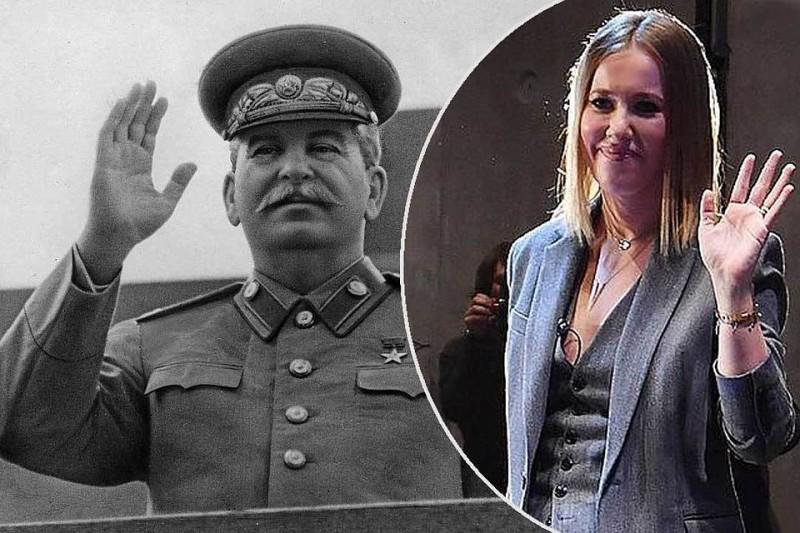 Собчак обвинила Сталина в по…