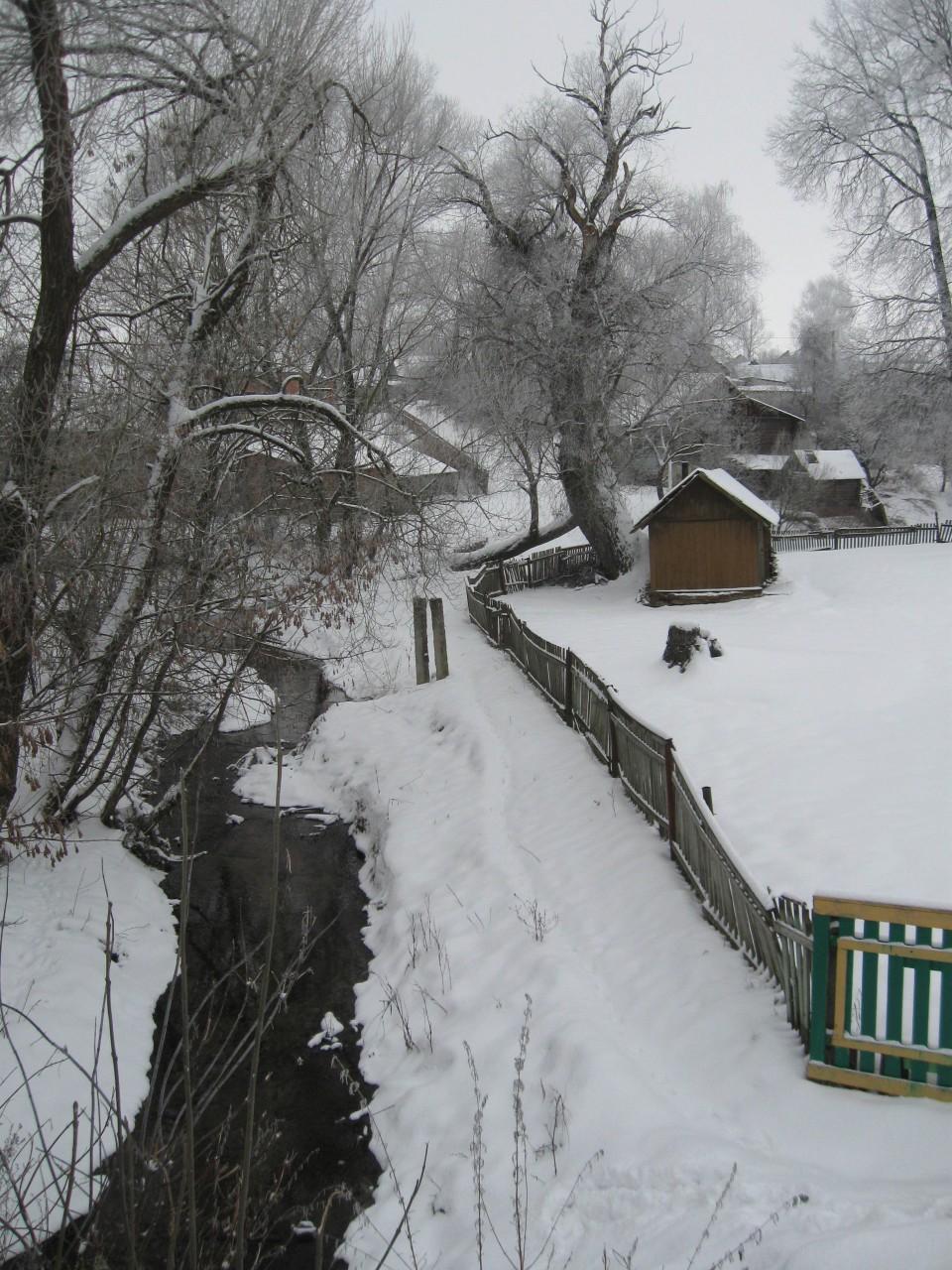 Мир вокруг нас: старушка-зима