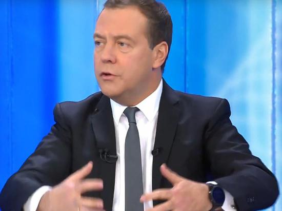 Лукавые цифры премьера Медведева: о чем умолчал ДАМ в «Разговоре»