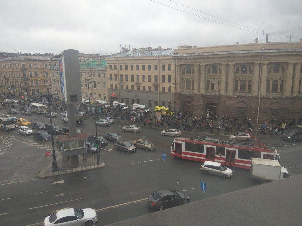 В посольстве США «шокированы» взрывом в Петербурге