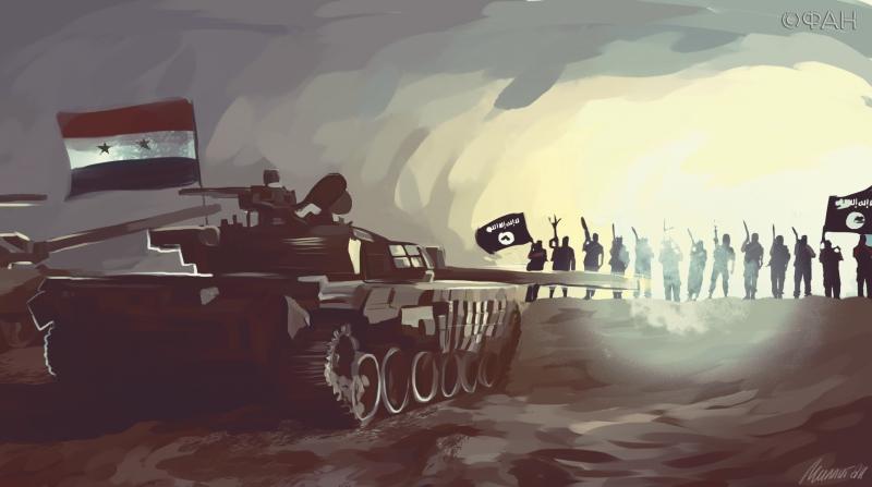 Армия Сирии отбила у ИГ газовое месторождение под Пальмирой
