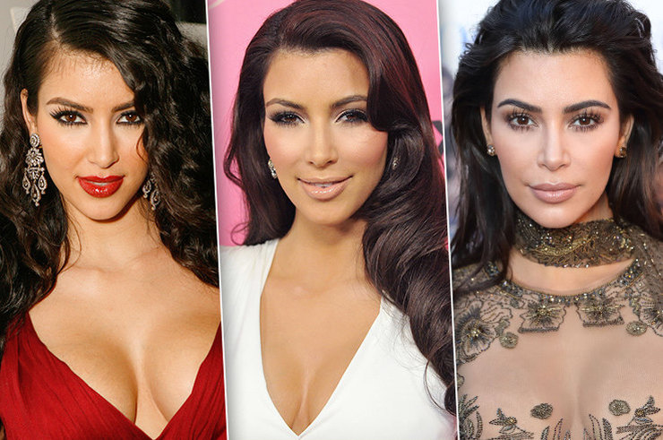 Бьюти-эволюция Ким Кардашьян: от стилиста до звезды мирового масштаба