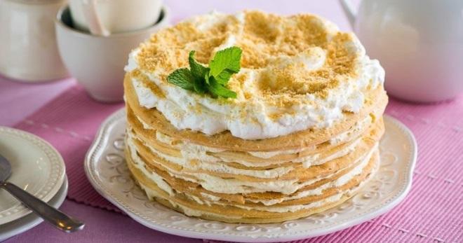 Торт «Наполеон» — лучшие рецепты десерта из разных коржей с кремом
