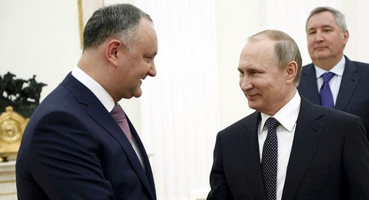 «Против России не пойду»: Додон отказался подписывать антироссийский закон в угоду Западу