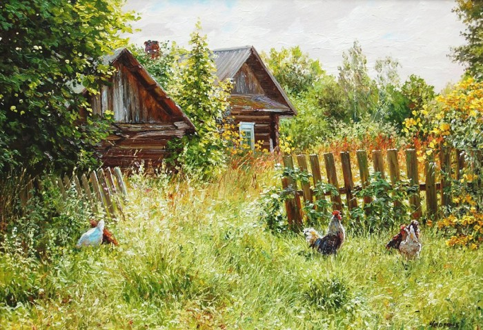 сельский пейзаж Татьяна Черных – 02