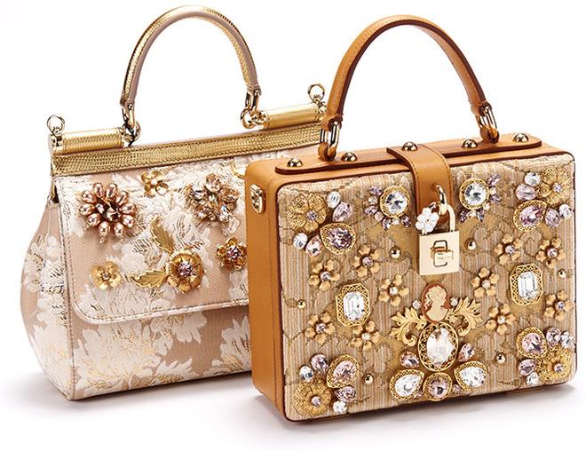 Это по-нашему: «русская» коллекция сумок Dolce&Gabbana