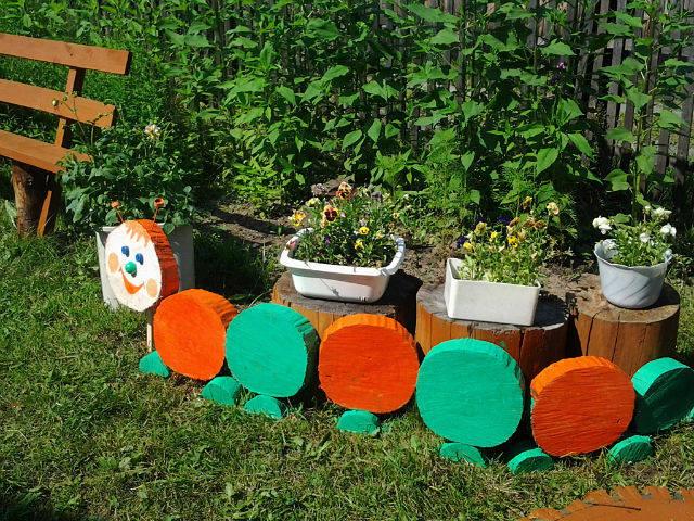Поделки для дачи и сада своими руками мастер класс