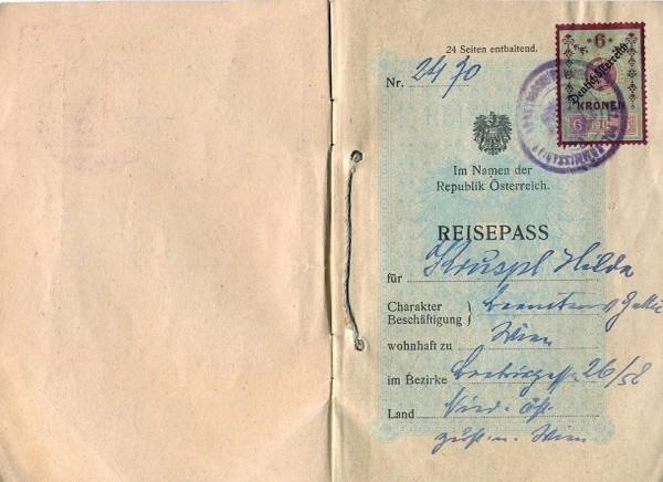 Из истории паспортов — краткий экскурс