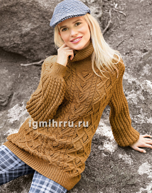 Утепляемся... Красивые и теплые свитер и Жакет