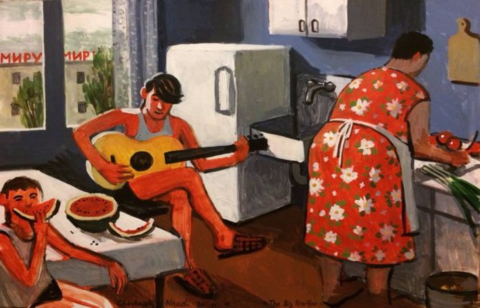 Советское детство: жизненно-правдивые рисунки-воспоминания Зои Черкасской
