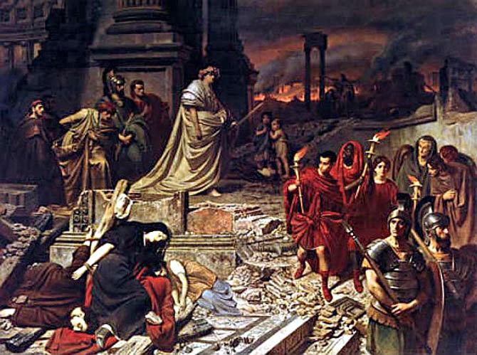Картинки по запросу Император Нерон играл на скрипке