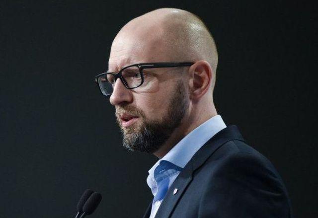 Яценюк о незаконном захвате власти в Украине