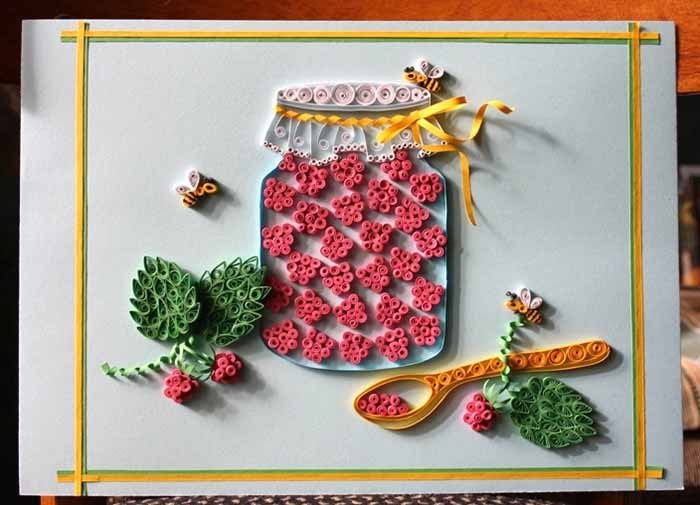 Красивые поделки из квиллинга для детей - фото 45