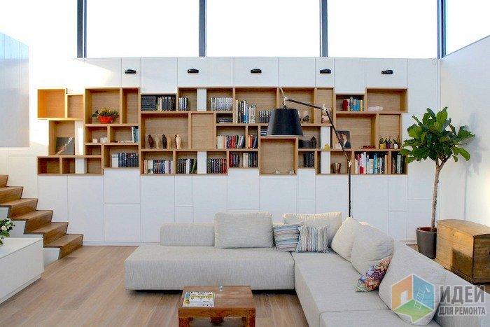 Стеновые шкафы и полки - гар…
