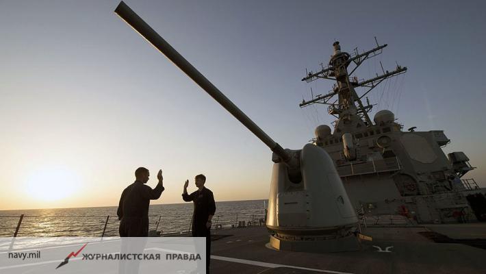 Россия разоблачила планы США по наращиванию своего военного присутствия в Черном море