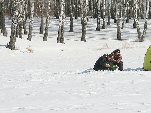 Капризы зимней плотвы
