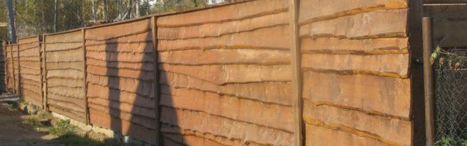 Как построить забор из горбыля своими руками — пошаговая инструкция с фото и видео