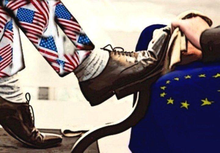 АМЕРИКАНСКУЮ ГЕГЕМОНИЮ НИКТО НЕ ОТМЕНЯЛ: ЕВРОПЕ ЕЩЕ ДОЛГО БЫТЬ ВАССАЛОМ США