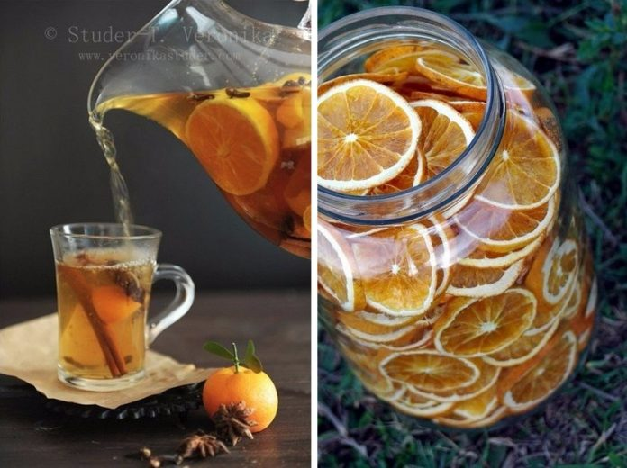 Ароматный апельсиновый чай со специями — вкусно и полезно!