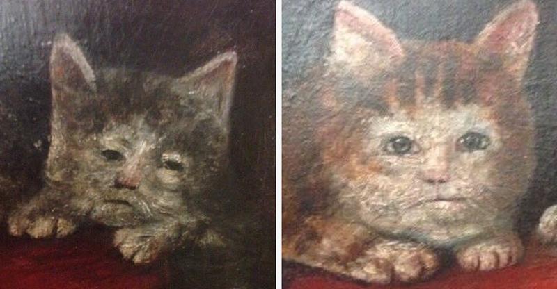 23 монструозных портрета средневековых котов
