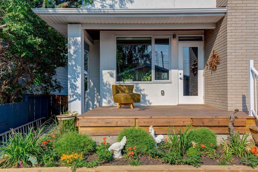 Ландшафтный дизайн заднего дворика