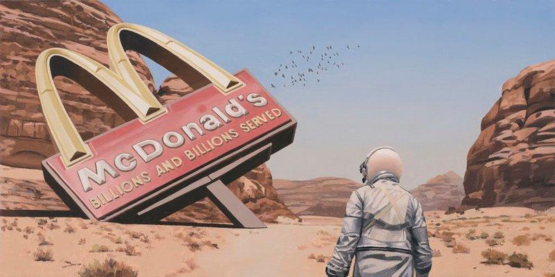 Блуждания одинокого астронавта на обломках цивилизации