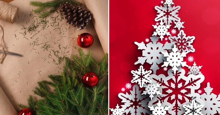 11 идей удивительного новогоднего декора из бумаги