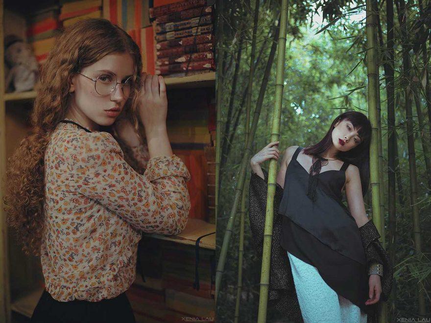Чудесная и кинематографическая портретная фотография Ксении Лау