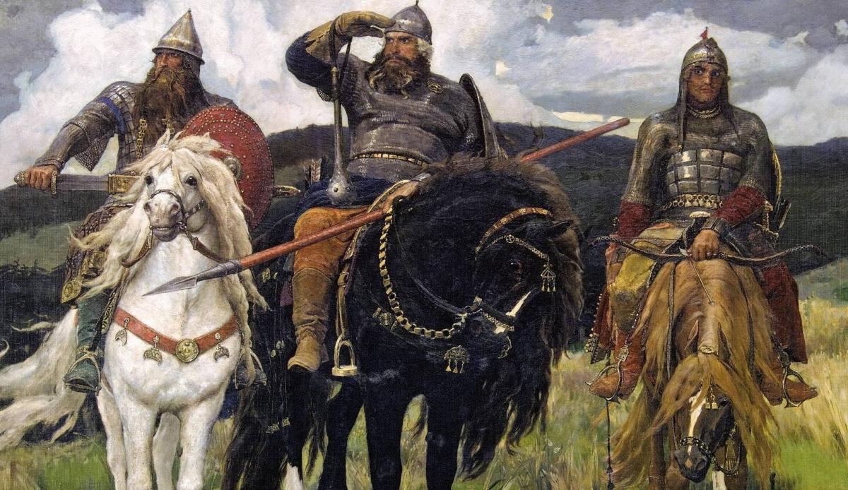 Былинные русские богатыри