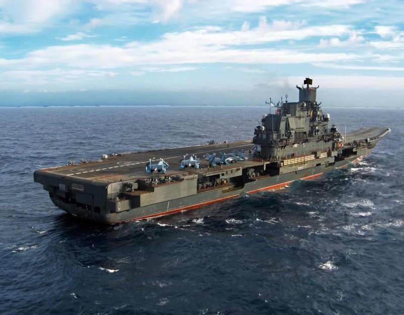 Боевая устойчивость обновлённого «Адмирала Кузнецова» на океанском ТВД. Все ли проблемы решит 3С14 УКСК? Часть 1