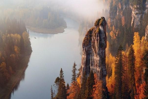 Россия: Река Усьва