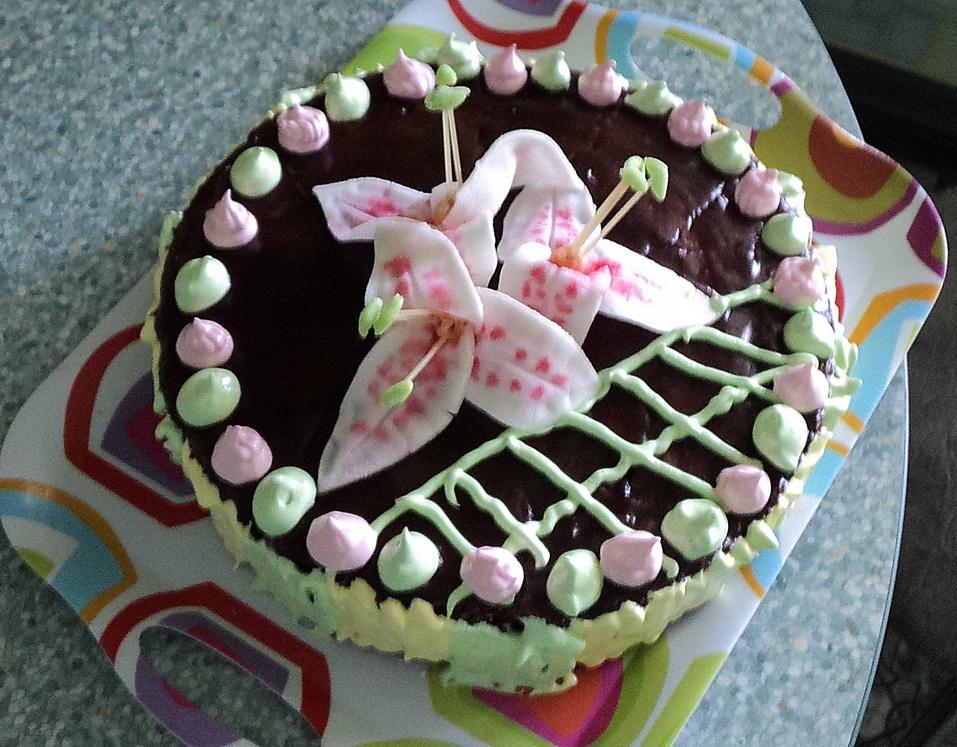"""торт """"С ЛЮБОВЬЮ"""" моим сынишкам в праздник детей"""