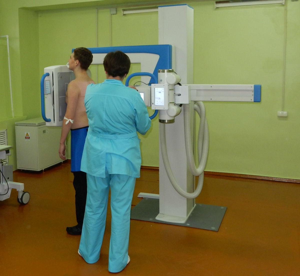 Как быстро сделать рентген