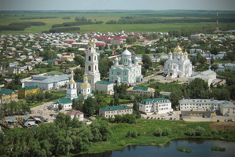 Дивеево. Женский Дивеевский монастырь.