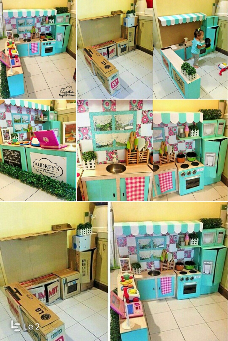 Игрушечная кухня (diy)