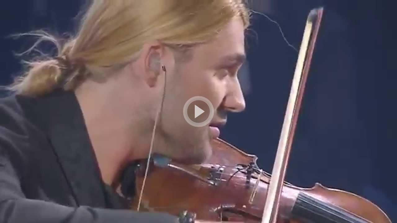 Волшебная скрипка Дэвида Гаррета — «Палладио». Дух захватывает!