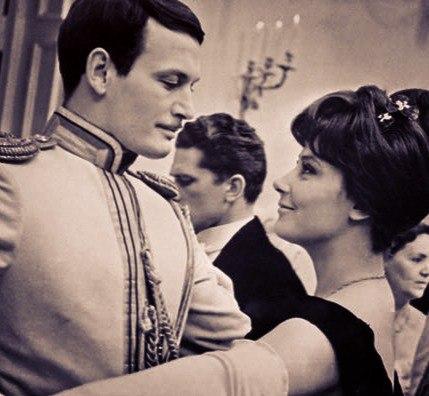 Красивые пары советского кино 60-ых.