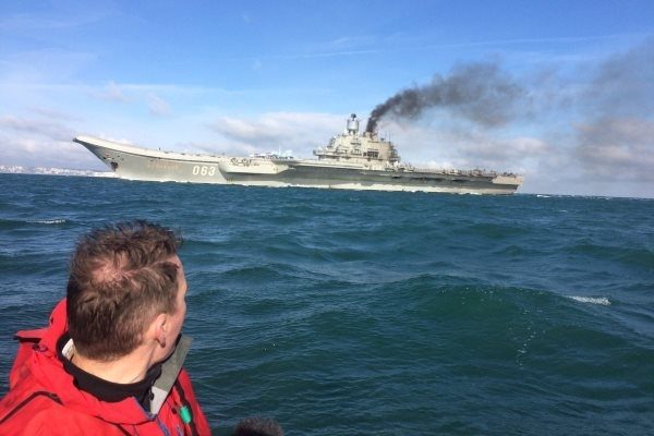 Во флоте назвали «трёпом» объяснение КП о дыме над авианосцем «Адмирал Кузнецов»