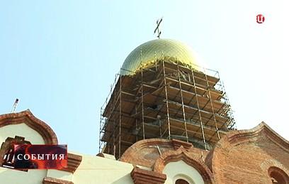 В столице возводят церковь в честь преподобного Андрея Рублева