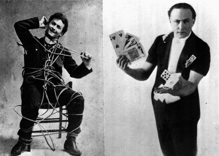 Великий Гарри Гудини и его необыкновенные фокусы