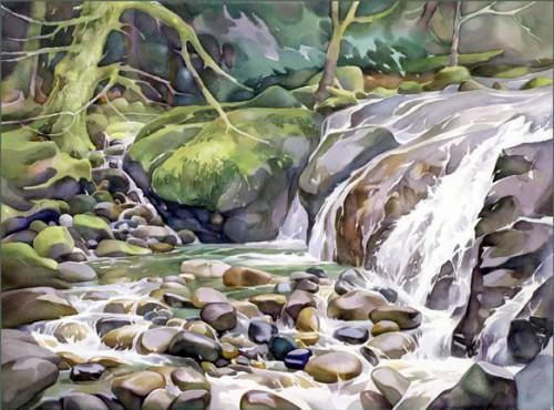 акварель пейзажи David McEown - 08