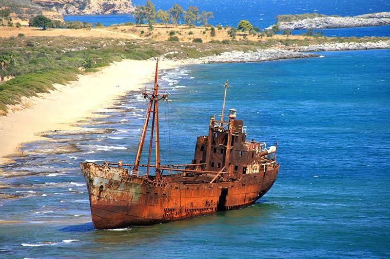 Лакония на юге греческого полуострова Пелопоннес.