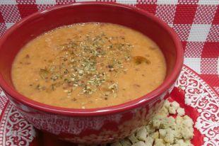 Как приготовить томатно-фасолевый суп-пюре?