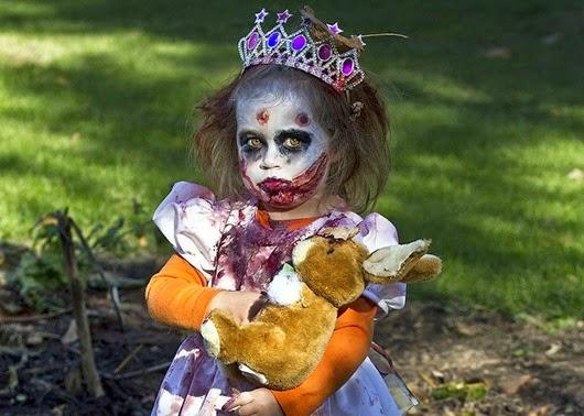 Жуткие и прекрасные идеи детских костюмов для Хэллоуина