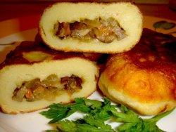 Пирожки с грибами - вкусная выпечка с ароматной начинкой