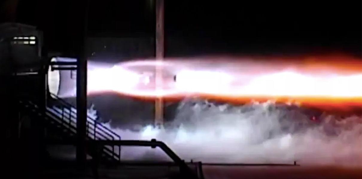 Blue Origin впервые провела огневые испытания своего двигателя BE-4